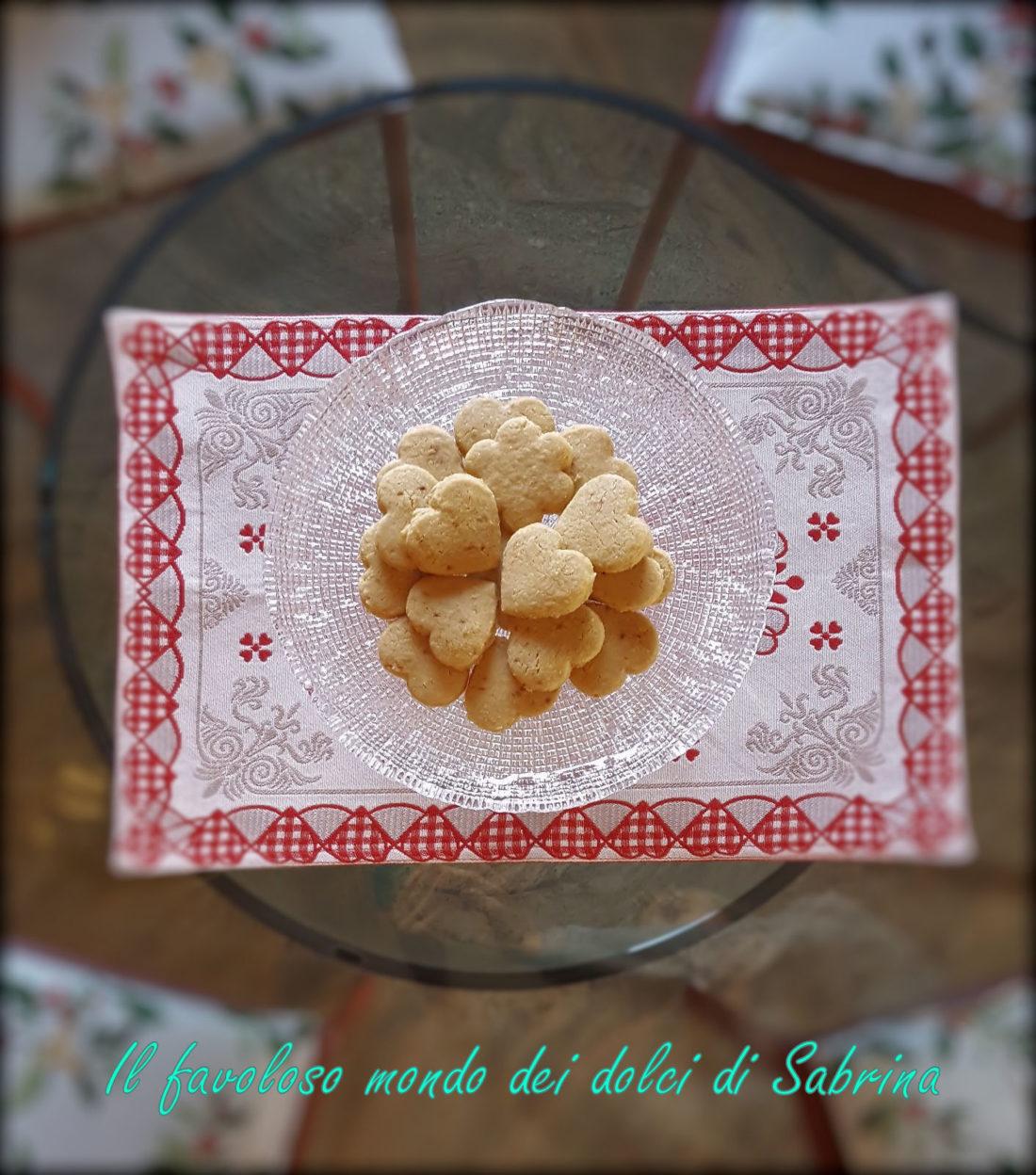Biscotti con farina di riso, cocco, mandorle e zucchero di cocco integrale bio