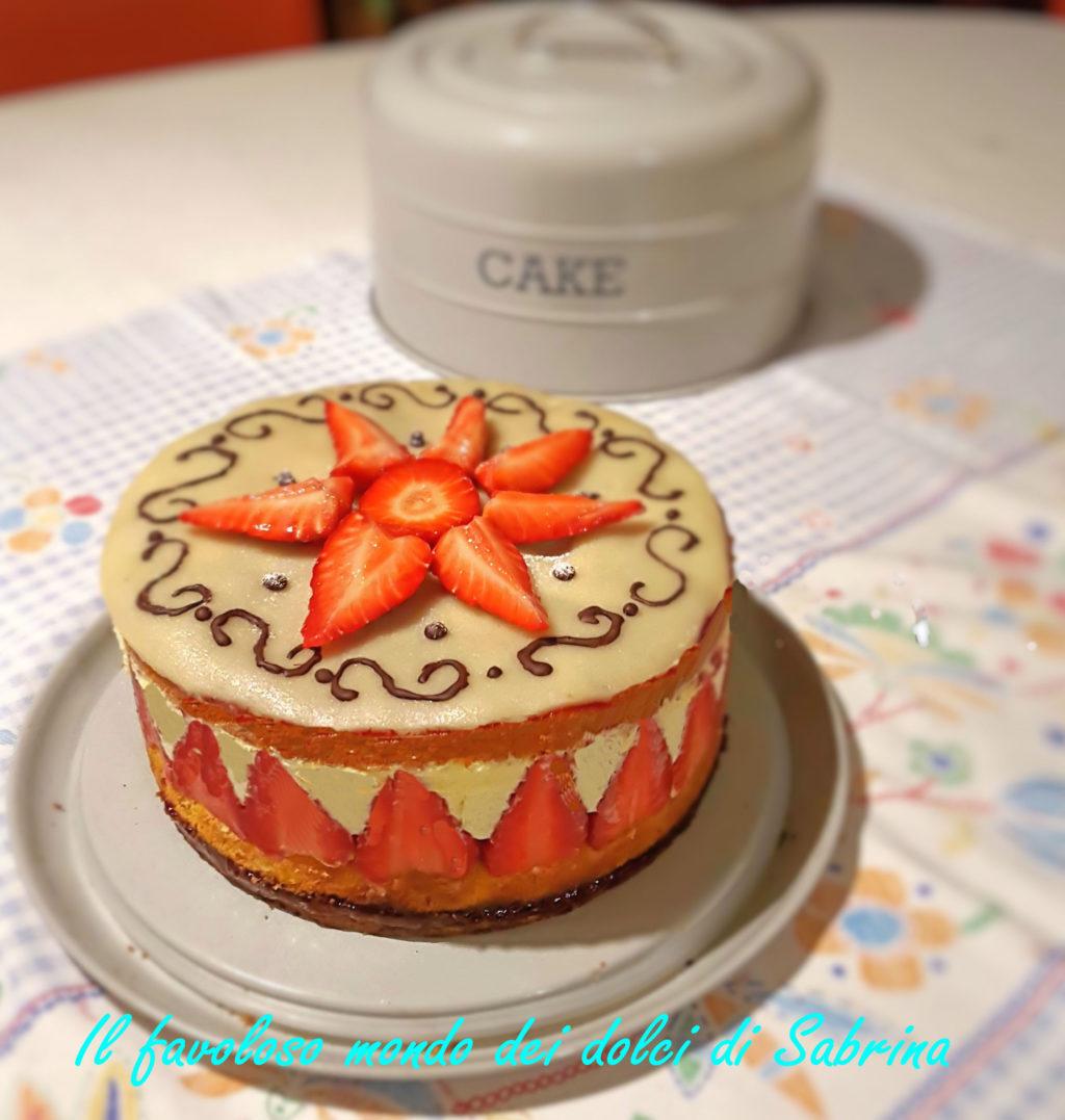 Gateau fraisier di Sabri