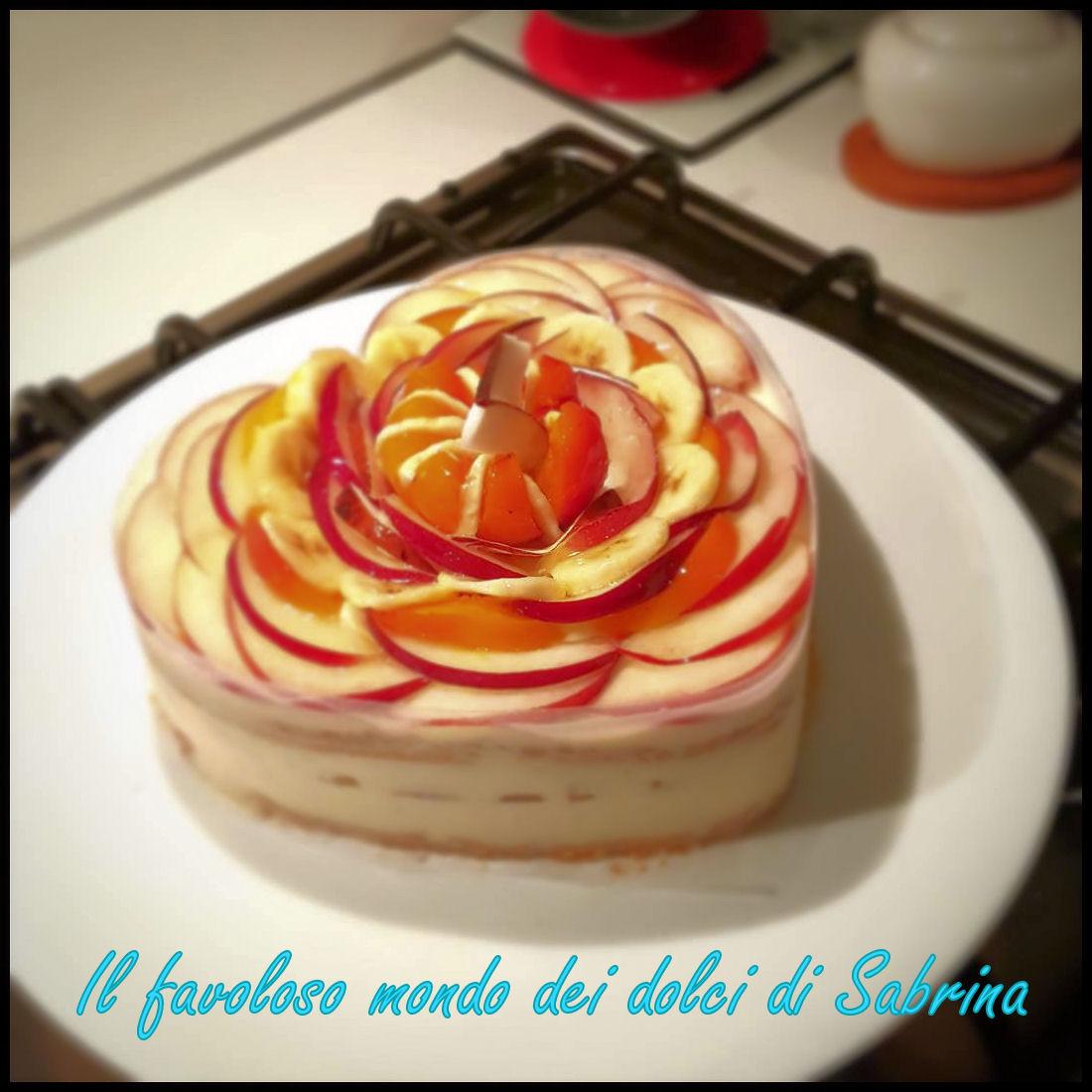 Torta Rapsodia di frutta