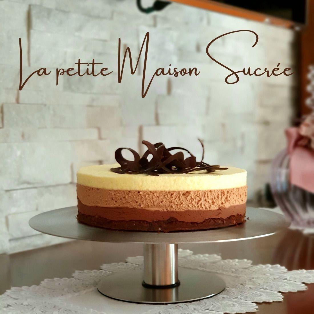 Mousse ai tre cioccolati ispirata alla ricetta di Ernst Knam